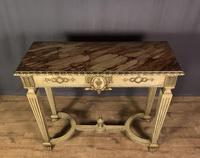 Italian Painted & Giltwood Console Table (9 of 11)