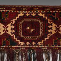 Antique Tekke Torba, Caucasian, Woven, Tent Bag, Decorative Wall Covering, 1900 (4 of 10)