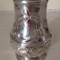 Antique George 1 Britannia Silver Caster - 1715 (4 of 6)