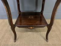 Inlaid Rosewood Table by James Shoolbred (11 of 11)