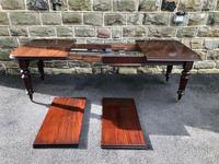 Antique Mahogany Wind Out Extending Dining Table (4 of 12)