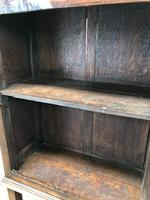 Antique Oak Cupboard on Stand (4 of 13)