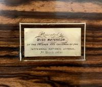 Victorian Coromandel Writing Slope Box (4 of 17)