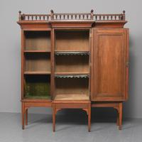 Oak & Painted Aesthetic Movement Bookcase (3 of 13)