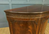Mahogany Chippendale Style Demi Lune Commode (9 of 12)