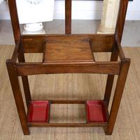 Oak Hat Coat Stand Arts & Crafts (4 of 9)