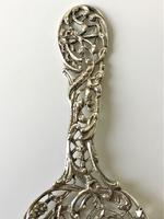 Superb William Comyns Silver Bonbon Spoon (4 of 7)