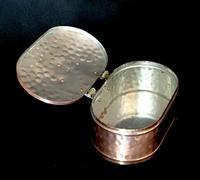 Arts & Crafts Brass and Copper Trinket Casket (4 of 4)