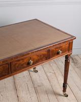 Fine Quality Late Regency Mahogany Library Table (4 of 8)