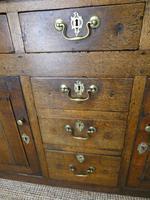 Neat 18th Century Oak Dresser (5 of 10)