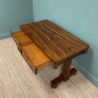 Beautiful Large Victorian Antique Rosewood Writing Table (6 of 6)