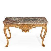 Victorian Giltwood Console Table (3 of 11)