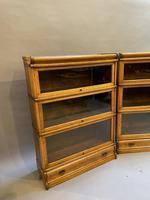 Pair of Globe Wernicke Oak Bookcases (3 of 16)