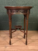 Fine Quality Edwardian Side or Lamp Table (2 of 10)
