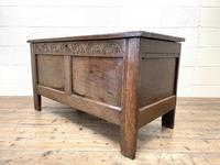 Antique 18th Century Welsh Oak Coffer (9 of 10)