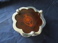 Pair of Wine Bottle Coasters with Faux Tortoiseshell Centers (4 of 5)