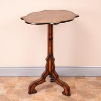 19th Century Marquetry Tripod Table (8 of 17)