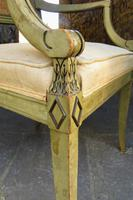 French Painted Regency Elbow Chair (8 of 9)