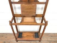 Antique Oak Hall Stand (3 of 11)