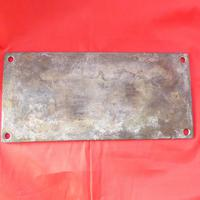 WW2 Admiralty Brass Lifeboat Plaque (2 of 3)