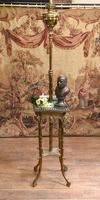 Antique Gilt French Floor Lamp Table (2 of 12)