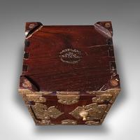 Antique Collector's Box, Chinese, Rosewood, Decorative Specimen Case c.1920 (12 of 12)
