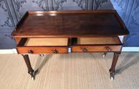 Victorian Mahogany Writing Table (7 of 13)