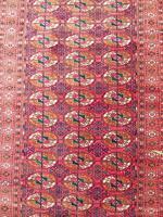 Rare Antique Tekke Turkman Carpet Runner (3 of 6)