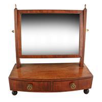 Small Regency Mahogany Dressing Mirror (2 of 8)