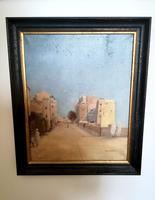 Impressive French Orientalist Painting Oil on Canvas 'attr. Albert Rigolot' (12 of 12)