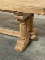 Extremely Rare Large Oak Refectory Table (6 of 35)
