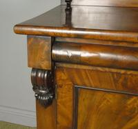 Victorian Flame Mahogany Chiffonier Cabinet Sideboard (4 of 8)