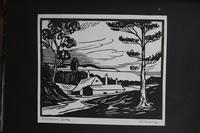 Album of 10 Woodblock Prints by Geoffrey Robert Russell (7 of 12)