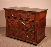 Jacobean Chest of Drawers in Oak 17th Century (4 of 11)