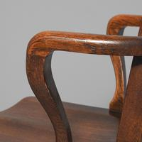 Rare Antique Set of 34 American Oak Chairs (8 of 15)