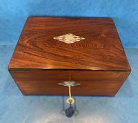 Victorian Rosewood Jewellery Box (4 of 15)