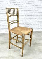 Regency Faux Bamboo Side Chair (2 of 6)
