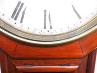 Impressive Victorian American Drop Dial Wall Clock 8 Day Movement Seth Thomas (5 of 12)