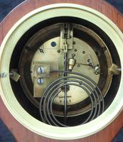 French Belle Epoque Mahogany Mantel Clock by Japy Freres (6 of 6)
