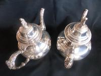 Two 'ONEIDA' Silver Plated Coffee Pots with Cream Jug (3 of 6)