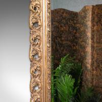 Antique Bevelled Mirror, English, Gilt Gesso, Overmantel, Hall, Victorian, 1900 (7 of 10)