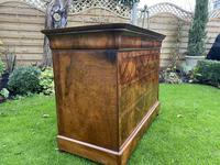 Burr walnut Louis Philippe commode (7 of 13)