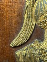 Pair of Interesting 19th Century Gilded Bronze Alexander The Great & Napoleon Cameo Plaques (21 of 29)