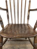 Antique 19th Century Beech & Elm Windsor Armchair (6 of 13)