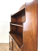 20th Century Reproduction Mahogany Bookcase (6 of 9)