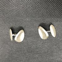Danish Sterling Silver Cufflinks. 1960s by Hermann Siersbol (4 of 4)