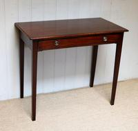 Early 19th Century Mahogany Side Table c.1820 (7 of 10)