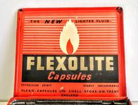 Vintage Advertising Tin for Flexolite  Lighter Fuel Capsules (4 of 10)