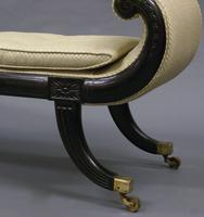 Elegant Ebonised Window Seat (5 of 6)