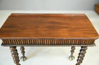Victorian Mahogany Side Table (5 of 8)